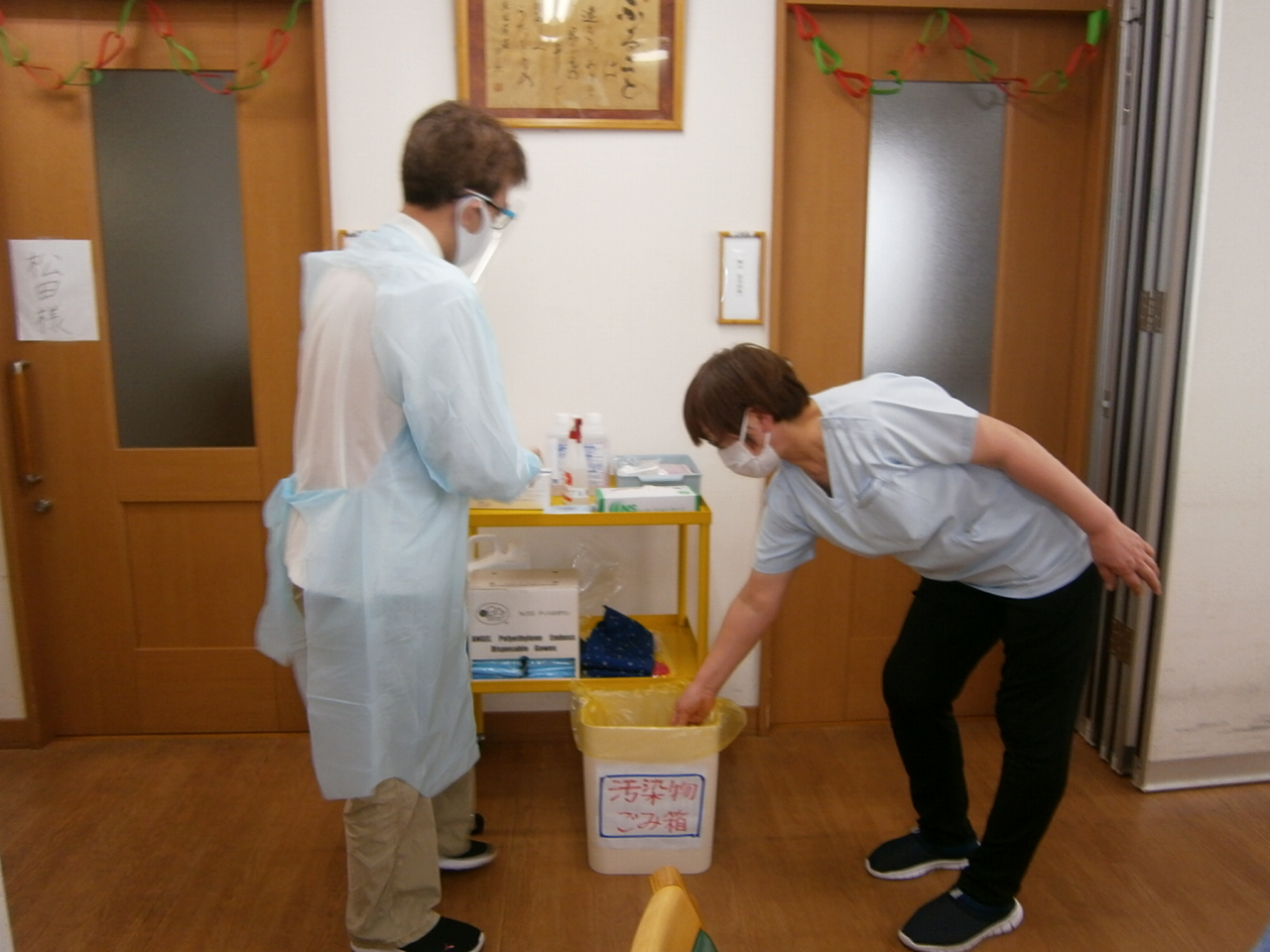 1月会議(コロナウイルス発生に備えた対応について)を行いました⭐