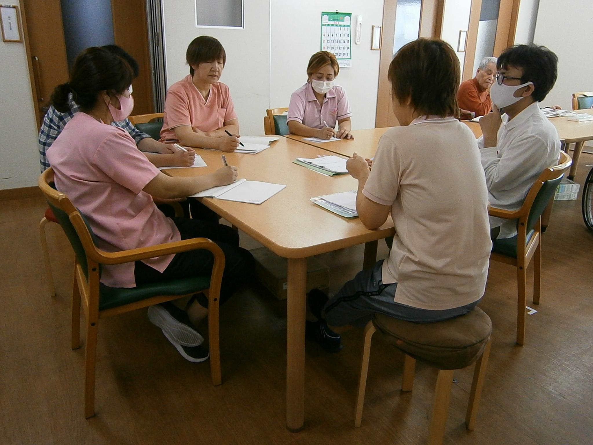 10月職員会議・勉強会
