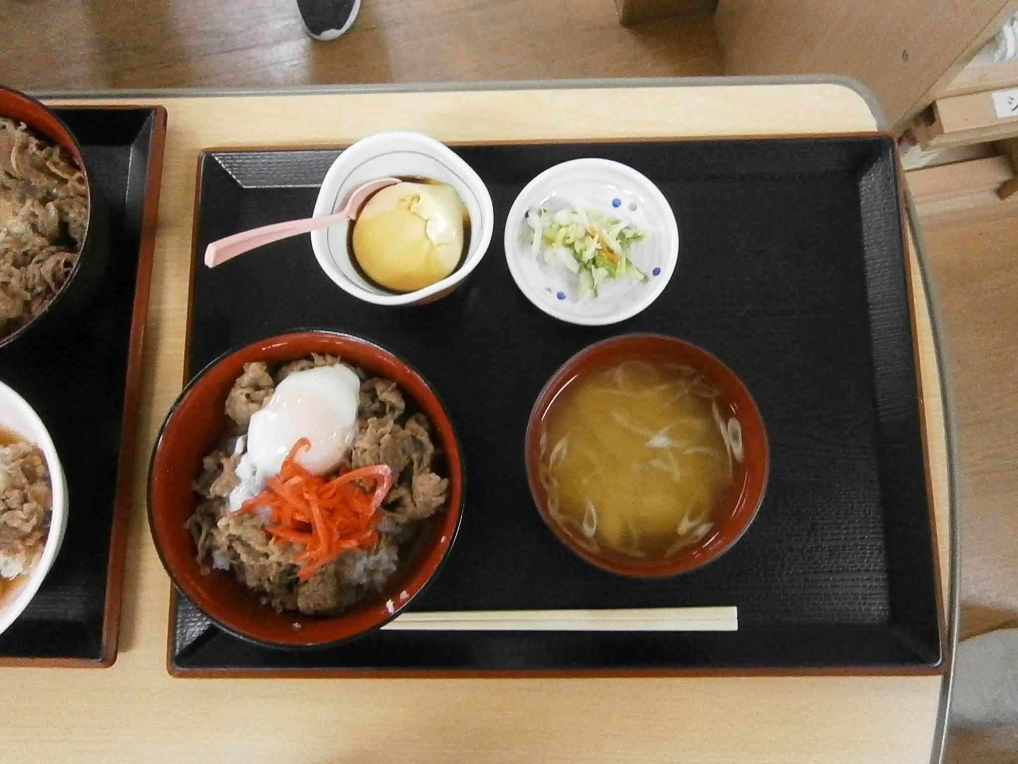 10月ライブキッチン第3弾 牛丼♪